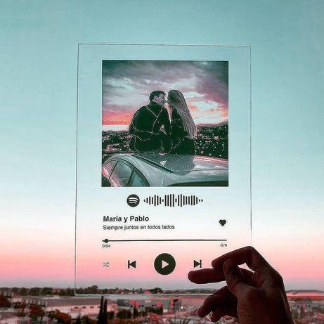Трекплостинка Видео Пластина Оживающая Картина Видео Пластина