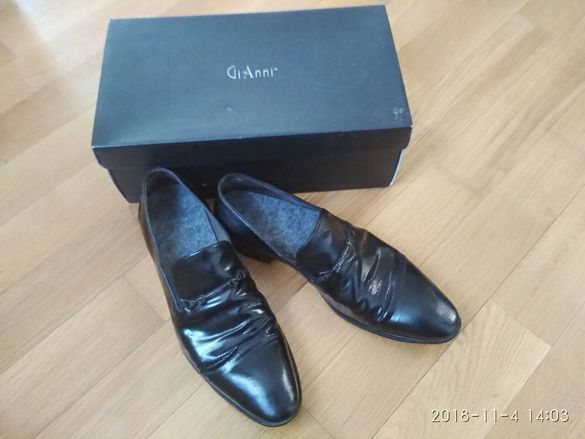 Мъжки обувки: Официални елегантни на Gianni  в