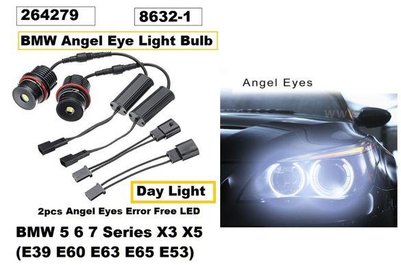 LED крушки за ангелски очи к-т BMW 5,6,7 серия Х3,Х5
