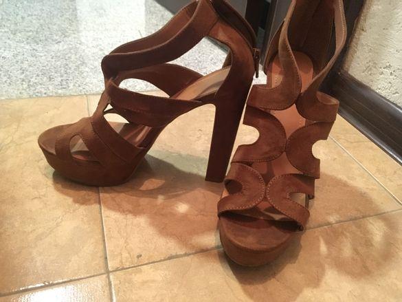 Кафяви обувки H&M