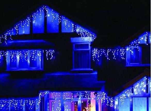 Декоративни Висулки 260см х 60см Коледна декорация за къщи и заведения