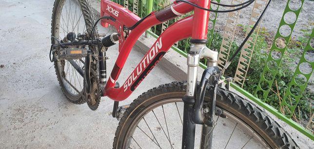 Велосипед с японии, двухподвестный, для пересеченной местности