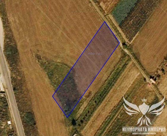 Продавам земя 3456 кв.м - втора линия в Асеновград до фирма Полигруп