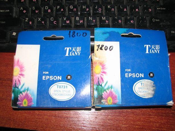 Картридж Epson - T0731 черный