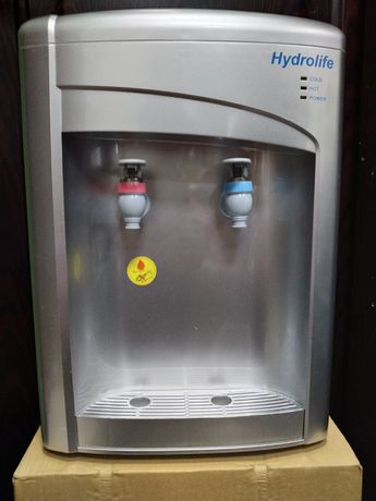 Диспенсер настольный для воды, кулер, с охлаждением, новые. Оптом