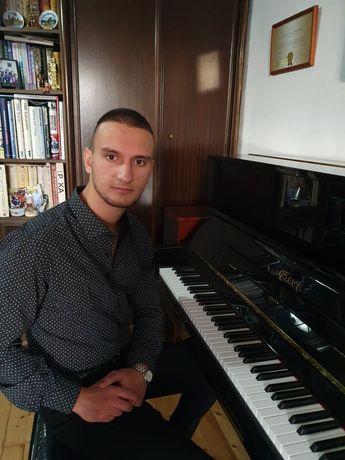 Давам уроци по пиано и солфеж