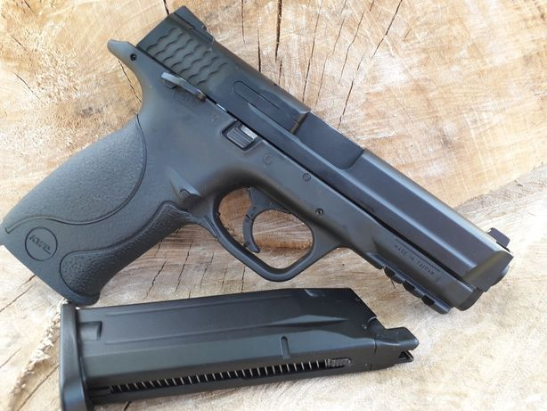 SMITH &WESSON Puternic precis CO2 Metalic Recul Hop-Up pistol airsoft