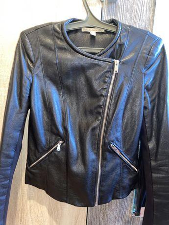 Продам кожаную куртку zara