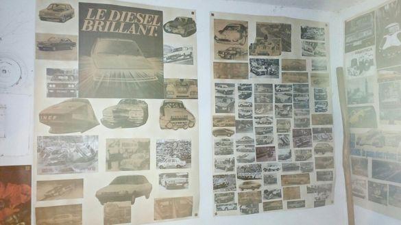 Плакати ретро мотори коли