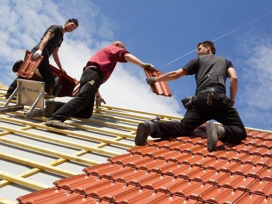 Montaj tabla acoperis, mansadari case, reparatii acoperisuri, tigla