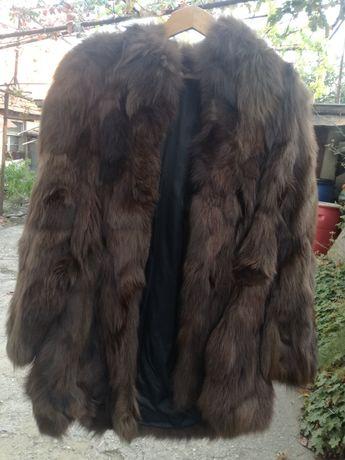 Палто от естествен косъм норка