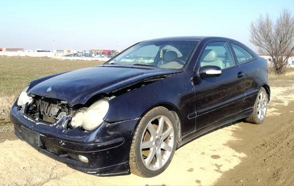 Mercedes C220 Coupe,На части