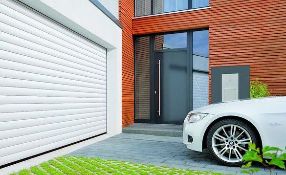 Ролетни гаражни врати /плътни, перфорирани, оплетки/, секционни врати