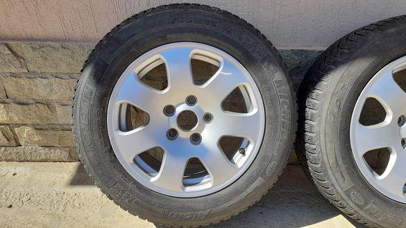 Алуминиеви джанти с гуми 15 цола за Ауди А4