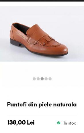 Pantofi noi piele naturala