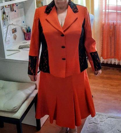 Costum damă sacou și fustă