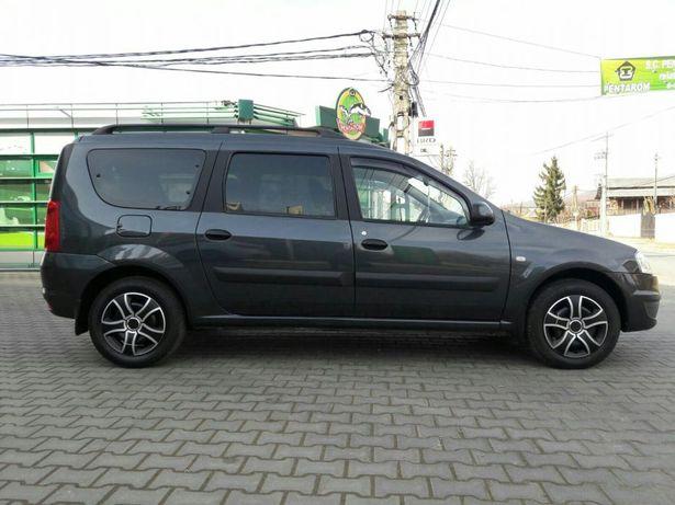 Autocolant negru carbon/mat montanti/stalp Dacia MCV X90 vechiul model