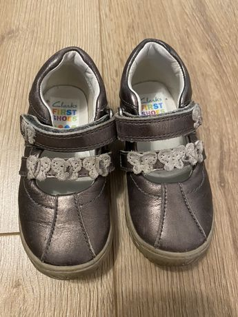 Детски обувки Clarks за момиче