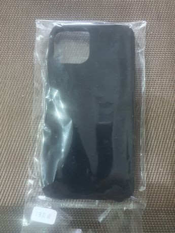 Husa neagra de catifea pentru telefon iphone 12