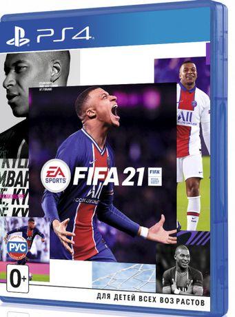 Новый диск FIFA 21 [PS4] магазин GAMEtop \ + возможен обмен дисков