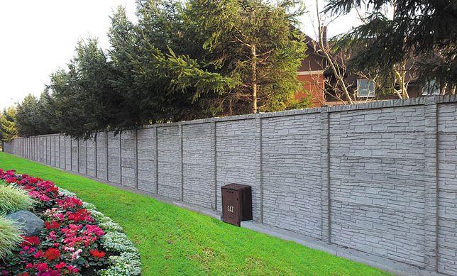 Gard prefabricat decorativ din beton armat Pitesti
