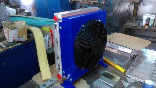 PIESE UTILAJE Radiatoare de ulei cu ventilatoare de racire 24 V