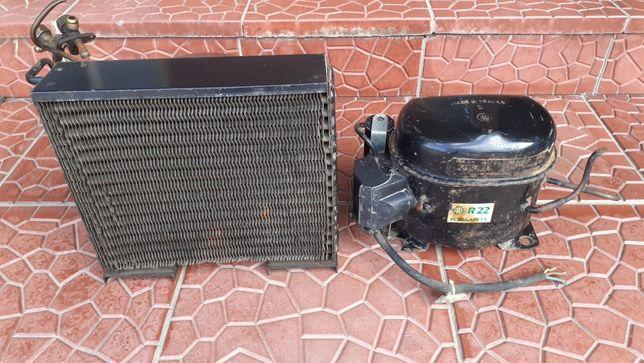 Компрессор с радиатором для холодильника