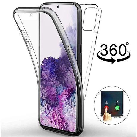 Samsung A51 A71 S20 S20+ S20 ULTRA - Husa 360 Fata Spate Transparenta