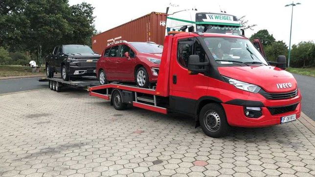 Transport auto Danemarca Germania Belgia Olanda platforma