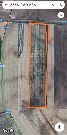 Teren arabil acces la sistem irigatii zona super Rociu jud. arges