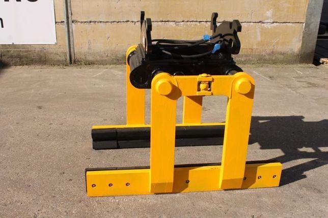 Cleste /dispozitiv hidraulic ridicat blocuri de beton sau borduri