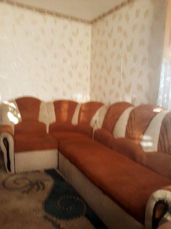 Белорусский угловой диван с креслом