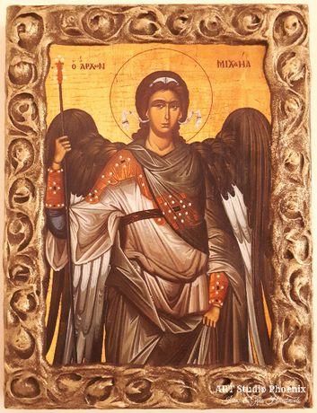 Икона на Свети Архангел Михаил, различни изображения icon Saint Michae