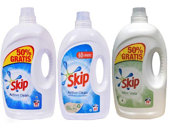 Скип ИТАЛИАНСКИ течен прах гел 90 или 60 перални универсален + бебешки