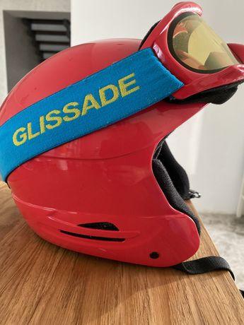 Лыжный детский шлем