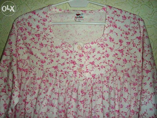 Новая ночная сорочка/ночнушка с длинным рукавом (размер 48-50)