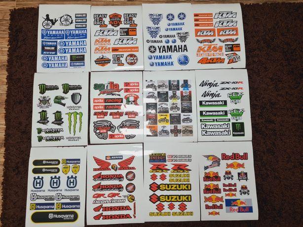 4+1gratis Stickere Monster Ktm Honda Kawasaki Can Am Yamaha Suzuki