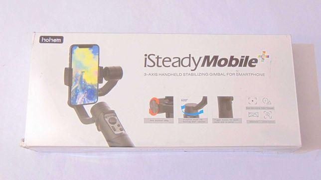 Suport stabilizator telefon mobil 3 axe Hohem iSteady Mobile + sigilat