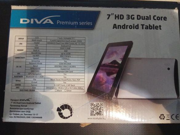 Таблети Diva 7 инча HD 3G