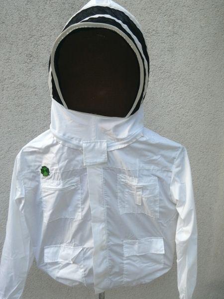 Пчеларски блузон яке с метална мрежа тип качулка-пчеларски инвентар гр. Габрово - image 1