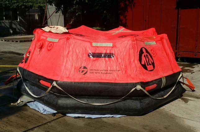 Pluta salvare/barca pneumatica salvare /cort