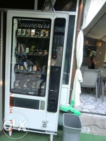 продава вендинг машини/автомати за сухи продукти
