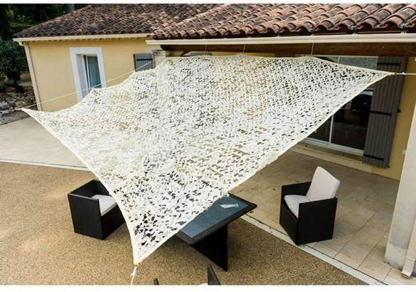 Тънка ажурна тъкан за сянка WERKA PRO 2x3 m