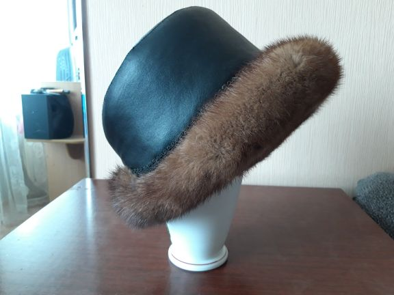 шапка женская зимняя