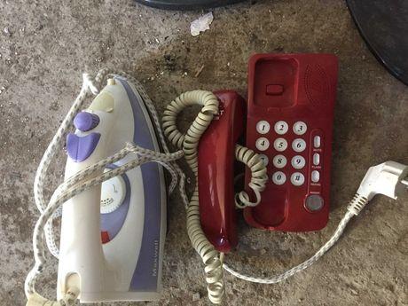 Продам утюг и телефон