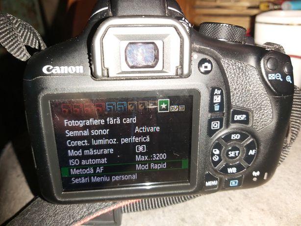 Canon eos 1300d + obiectiv