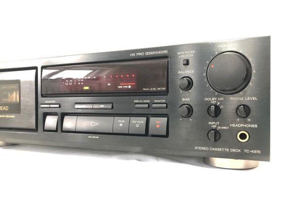 Deck Sony TC-K570 3 Head