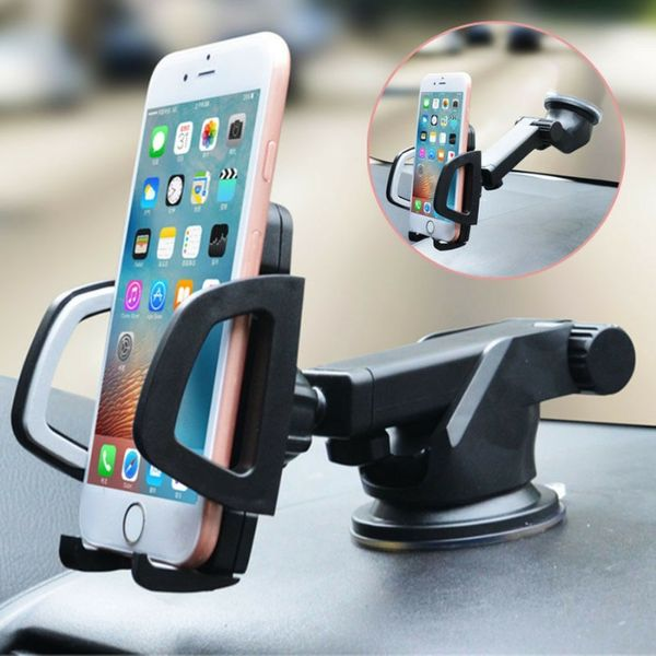Универсална поставка 360° стойка за телефон за кола smartphone gsm gps гр. София - image 1