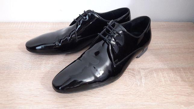 Pantofi Bigotti piele lăcuită