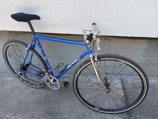 Cursiera vintage cyclocross  gravel Fredy Rüegg cadru Columbus